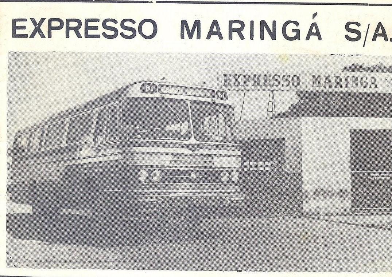Expresso Maringá S/A. - 1969
