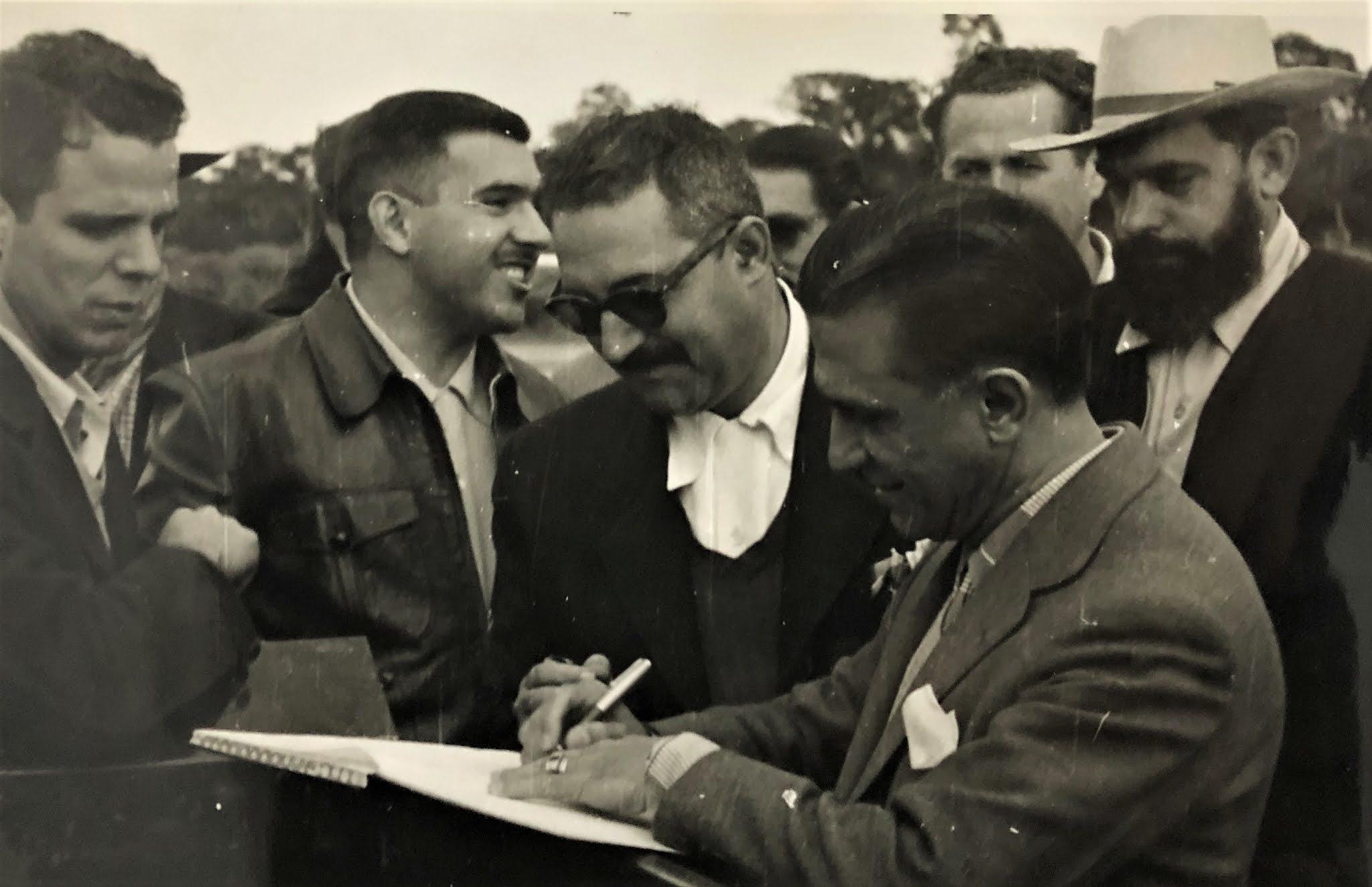 Joubert de Carvalho em Umuarama - 1955