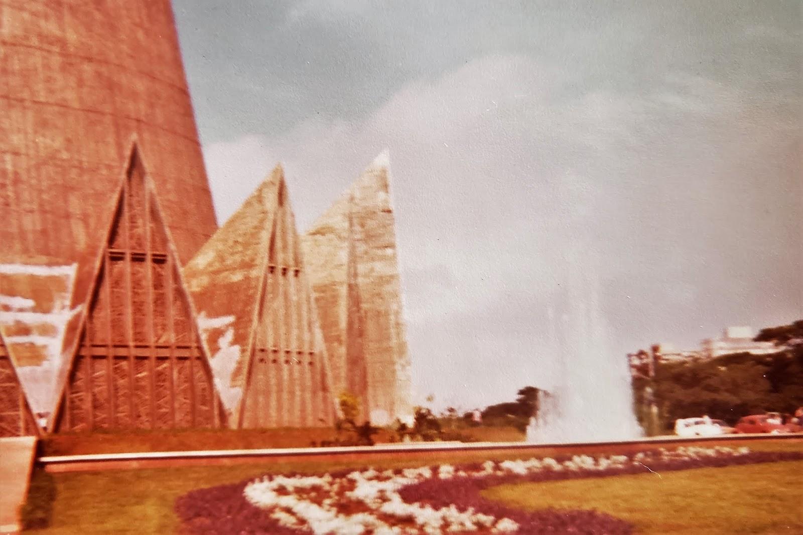Praça da Catedral - 1983