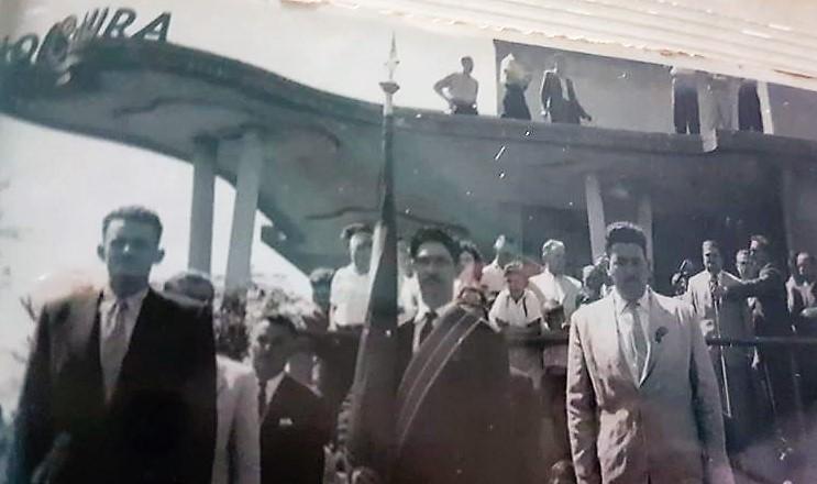 Evento na Rádio Cultura - Década de 1960