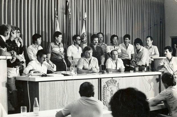 Plenário da Câmara de Vereadores - 1983