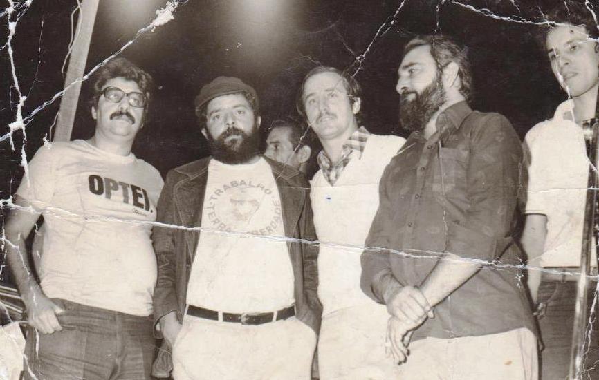 Lula em Maringá - 1982