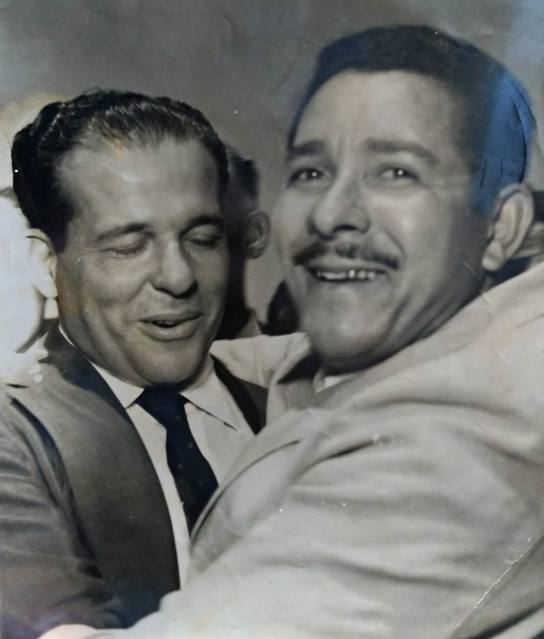 João Goulart e Joaquim Macaco - Década de 1960