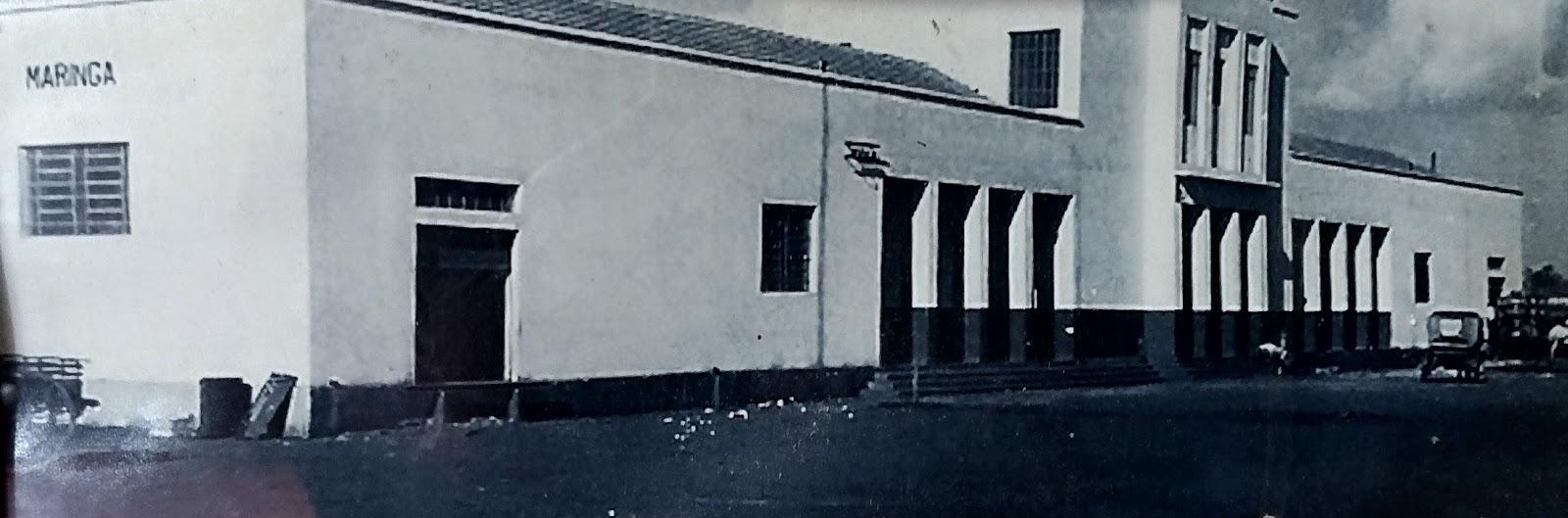 Estação Ferroviária de Maringá - Década de 1950