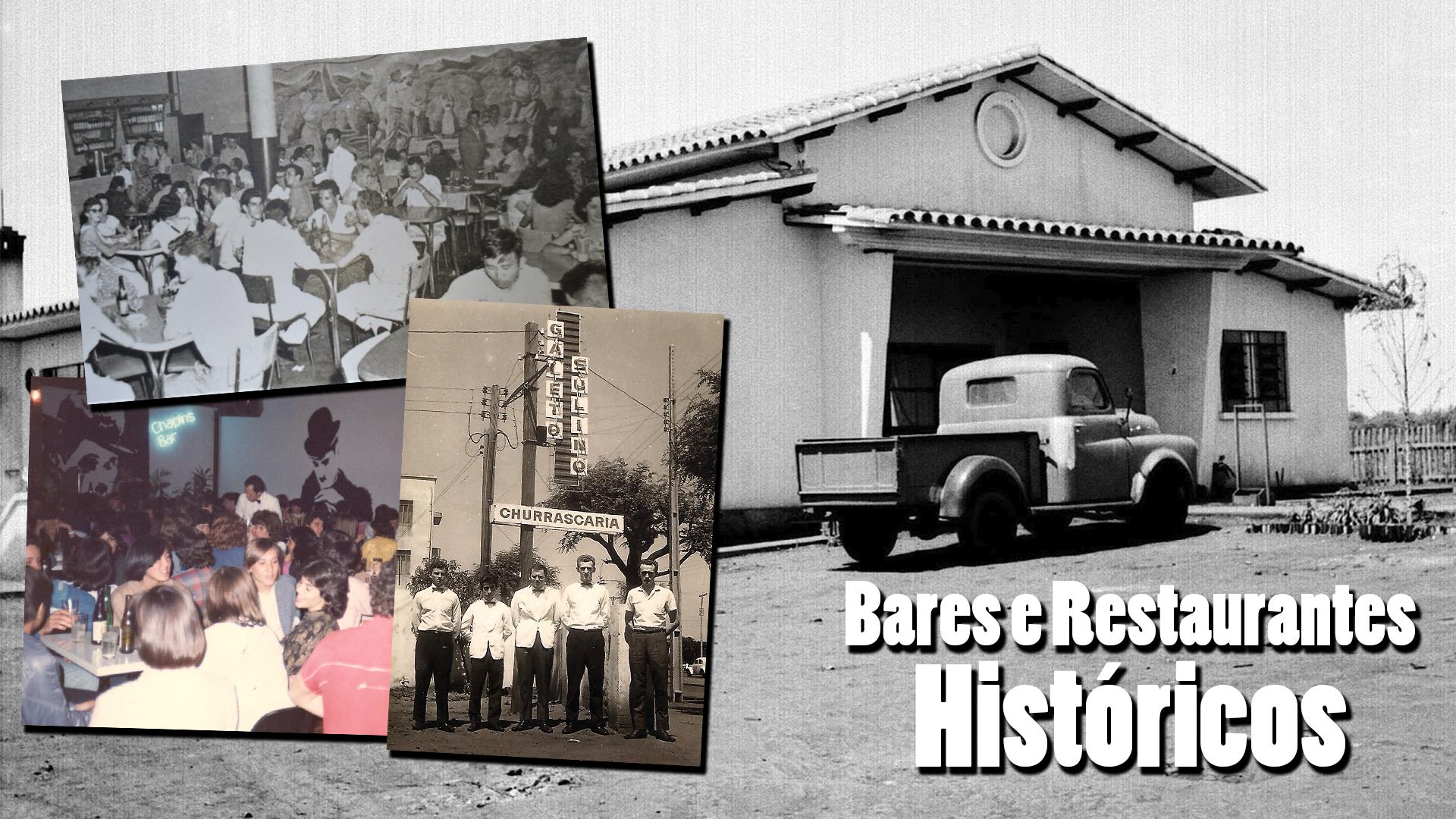 Bares e restaurantes históricos
