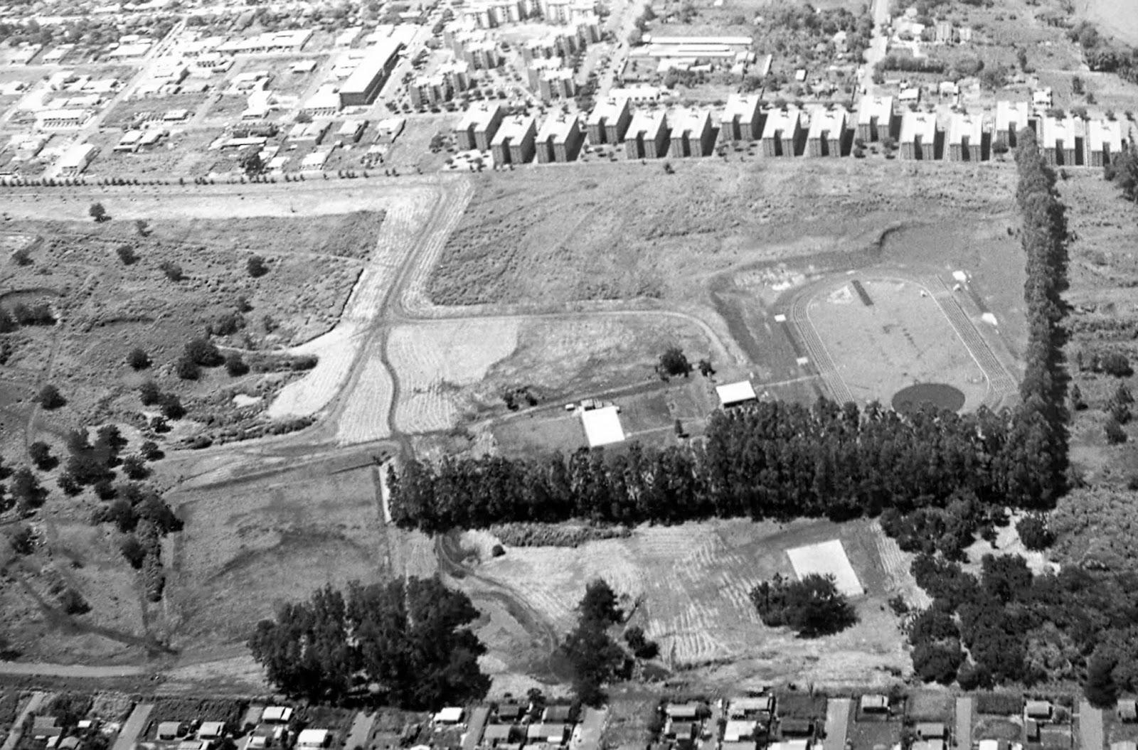 Blocos Habitacionais da UEM - Década de 1980
