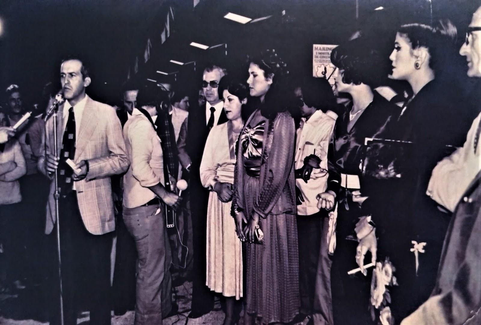 Abertura da I Mostra de Cinema de Maringá - 1979