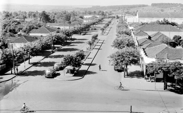 Avenida Riachuelo - Década de 1960