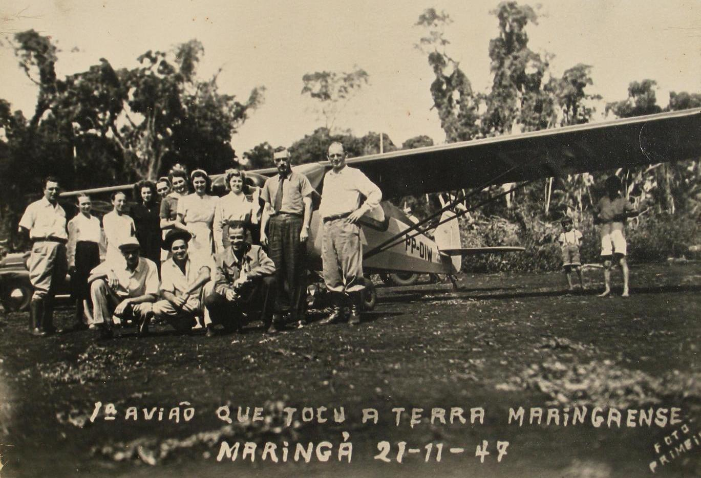Os Primeiros Fotos de Maringá