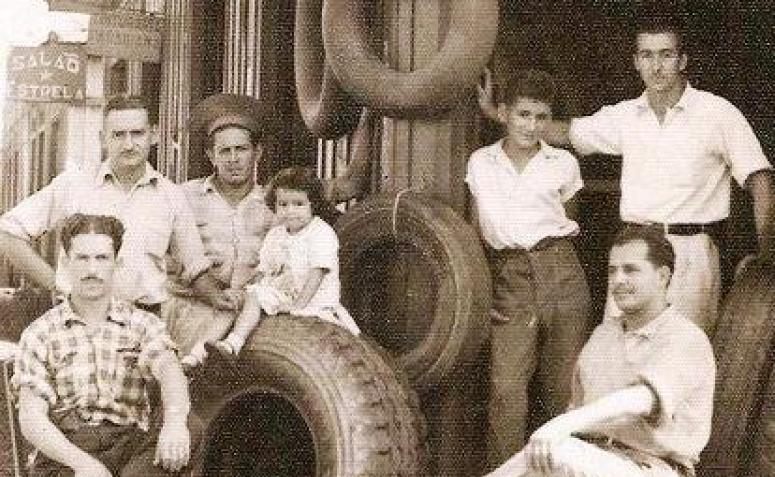 Série: Quem? Depósito Curitibano de Pneus - Década de 1950