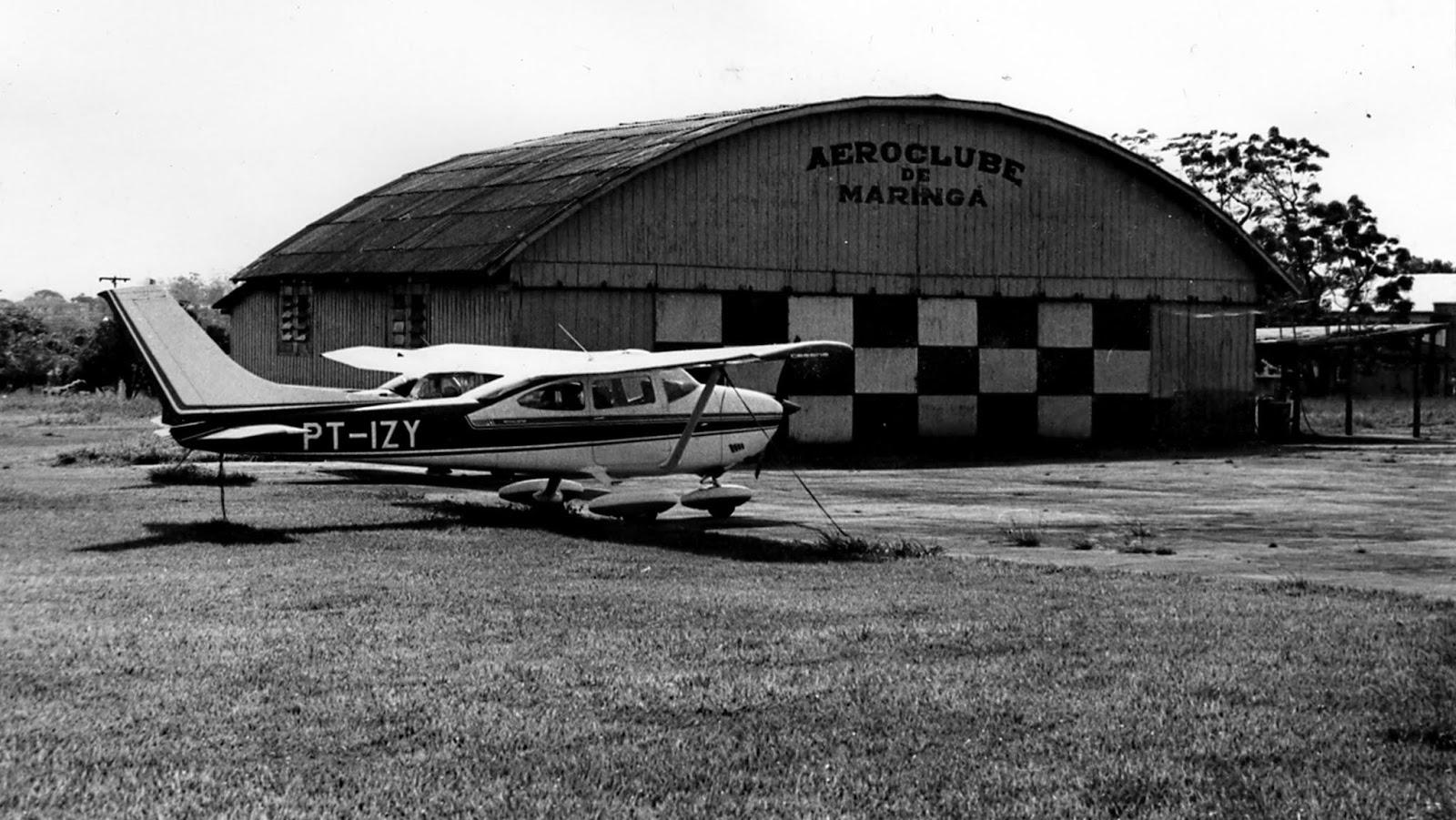 Aeroclube de Maringá - Década de 1980
