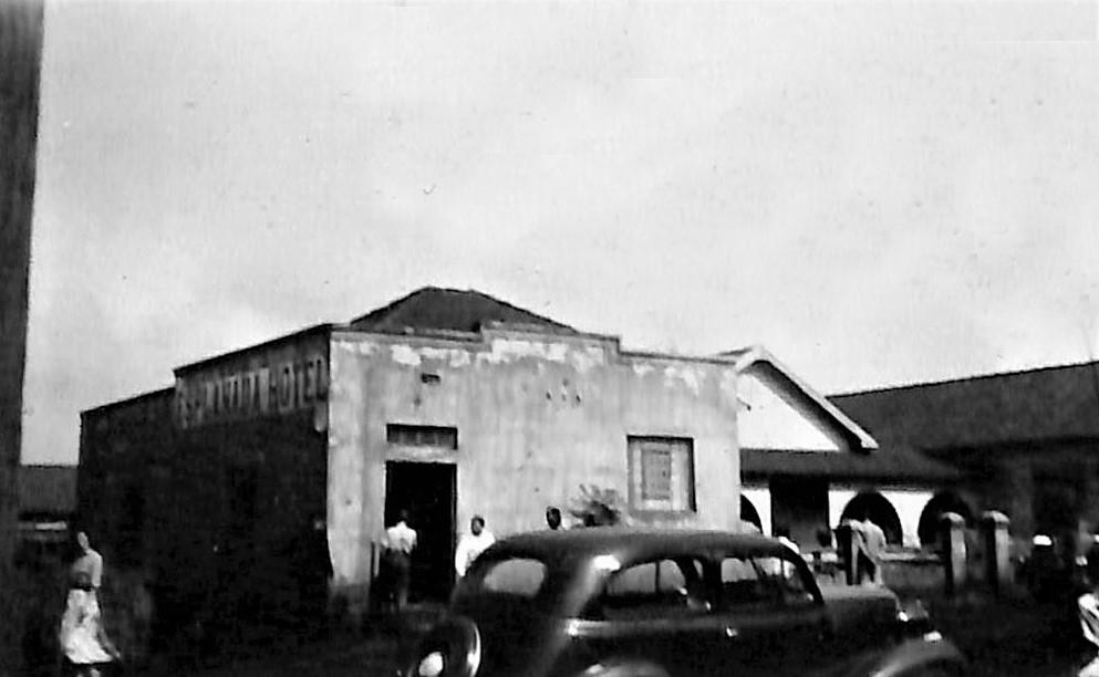 Primeiras instalações do Hotel Esplanada - 1951