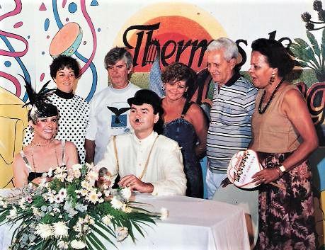 1º Carnaval do Thermas de Maringá - 1988