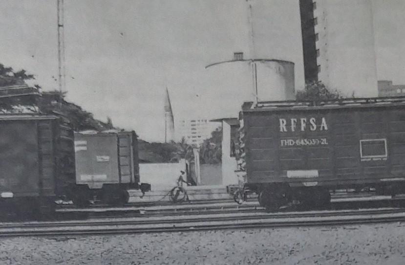 Pátio de manobras ferroviárias - 1987