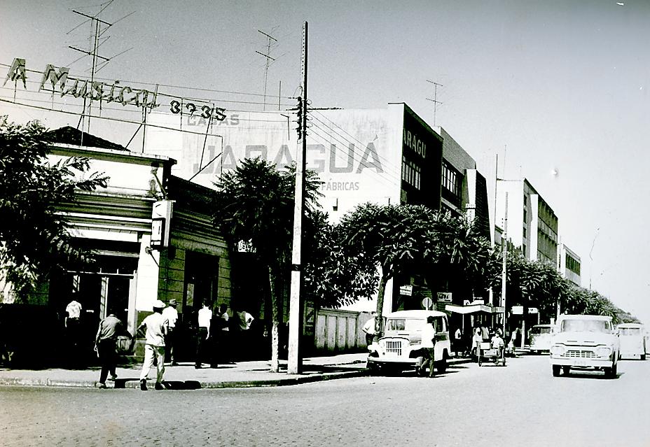 Avenida Brasil x avenida Getúlio Vargas - Década de 1960