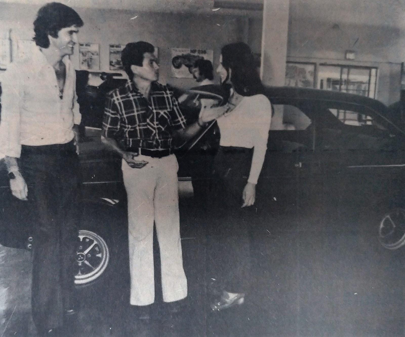 Cicero Alves da Silva opta pela 7ª vez pelo DODGE - 1978