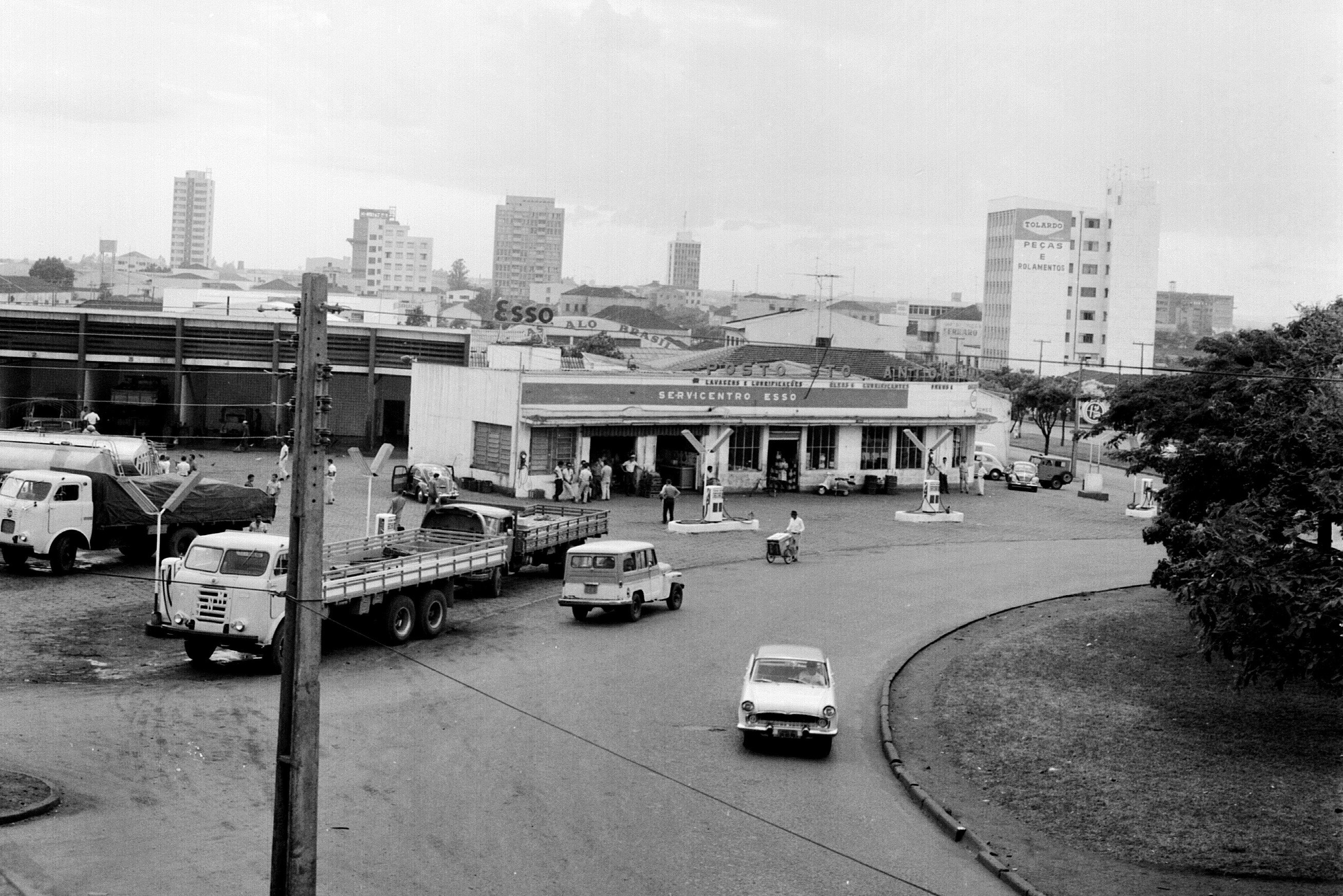 Posto Santo Antônio - Década de 1960