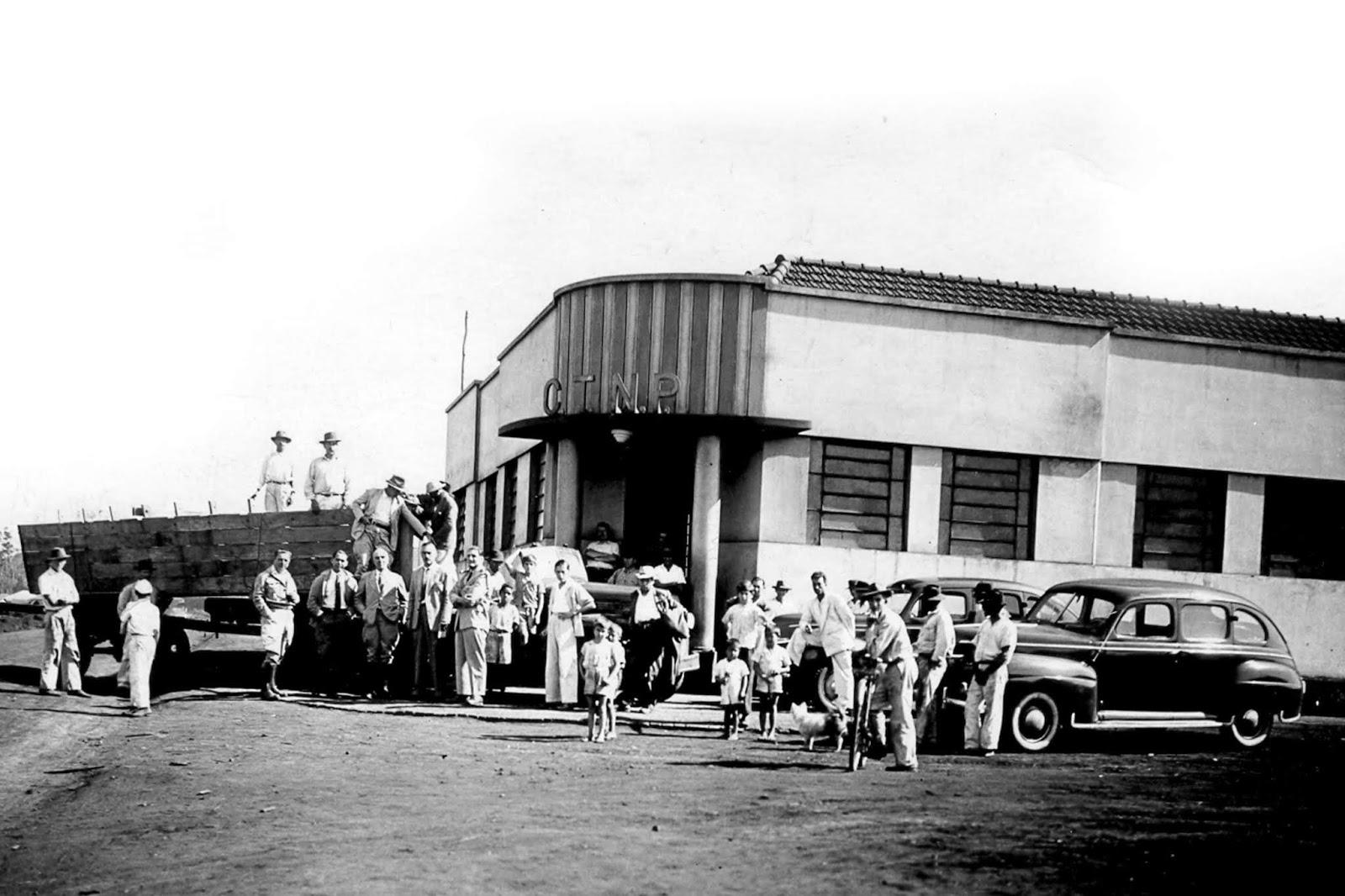 1ª sede da CTNP - Década de 1940