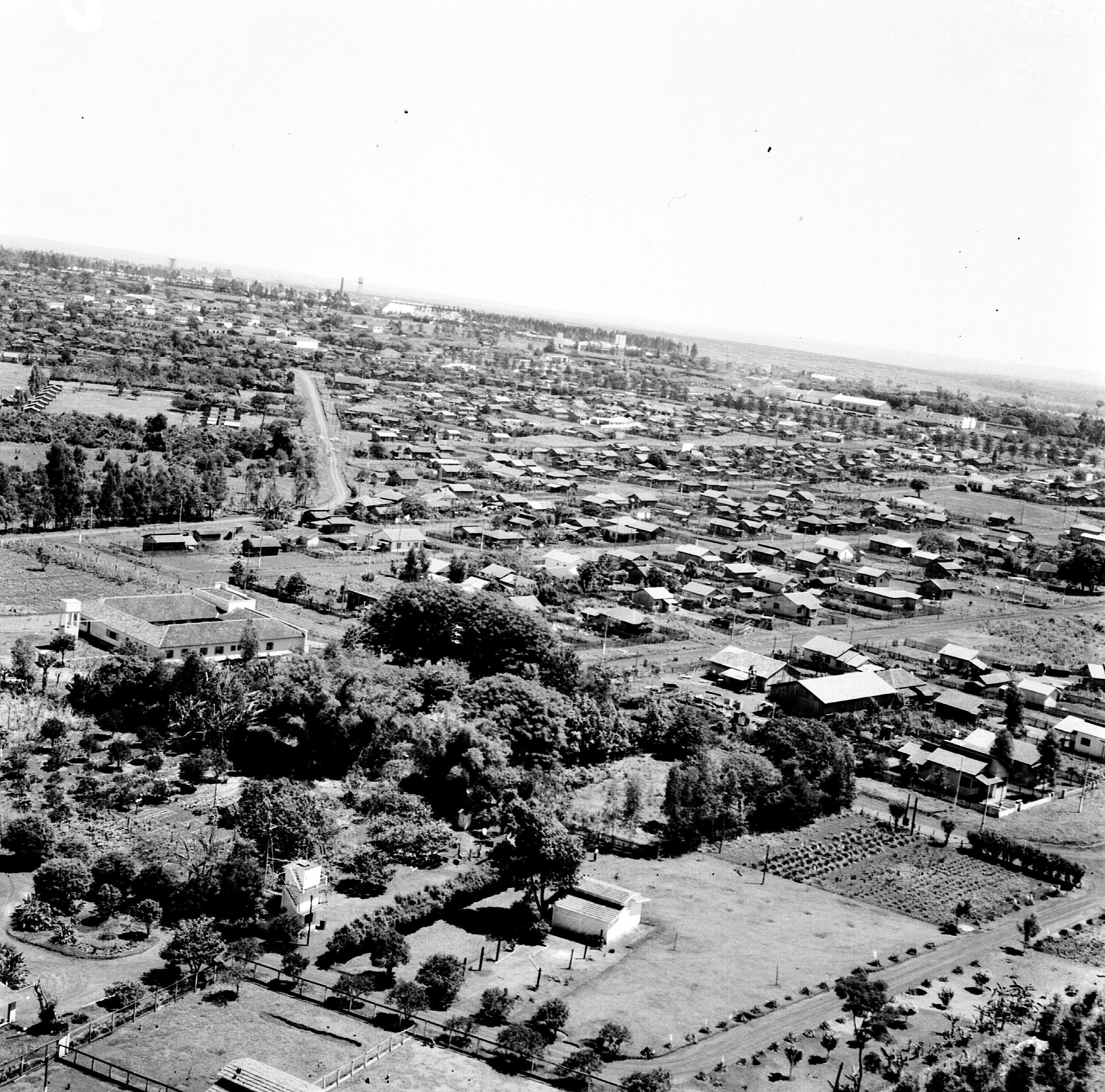 Chácaras e demais construções na Zona 8 - Década de 1960
