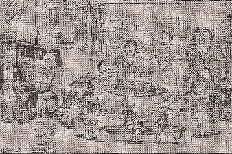 Publicidade da CMNP - 1955