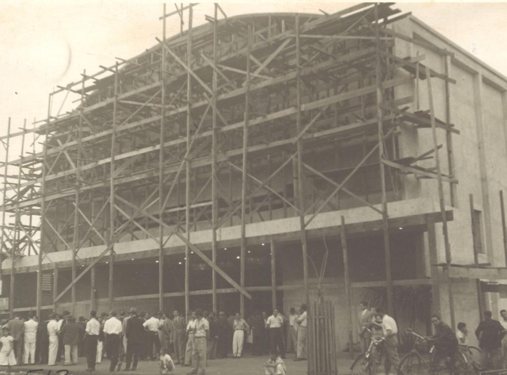 Inauguração do Cine Maringá