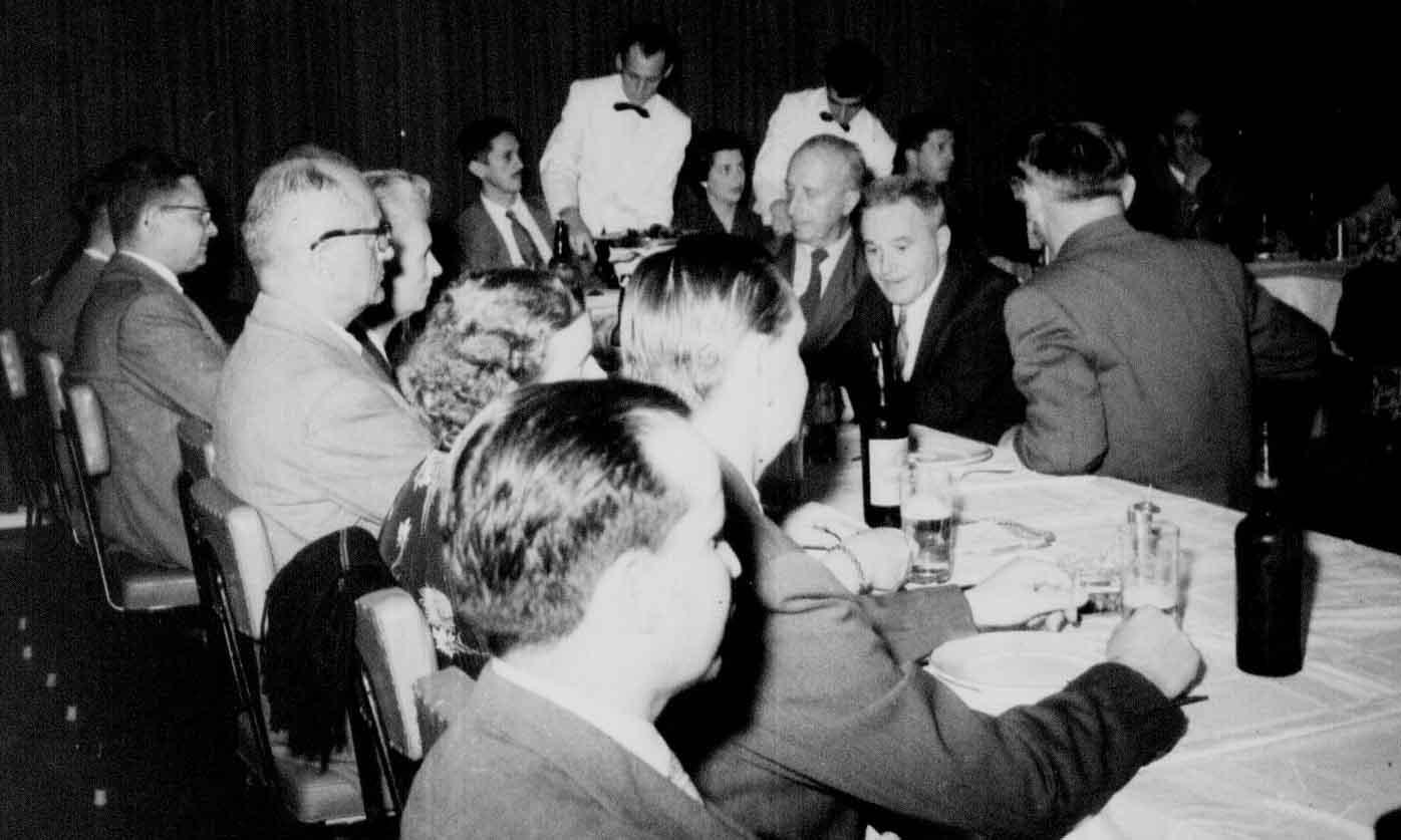 Evento Internacional no Grande Hotel Maringá - 1956