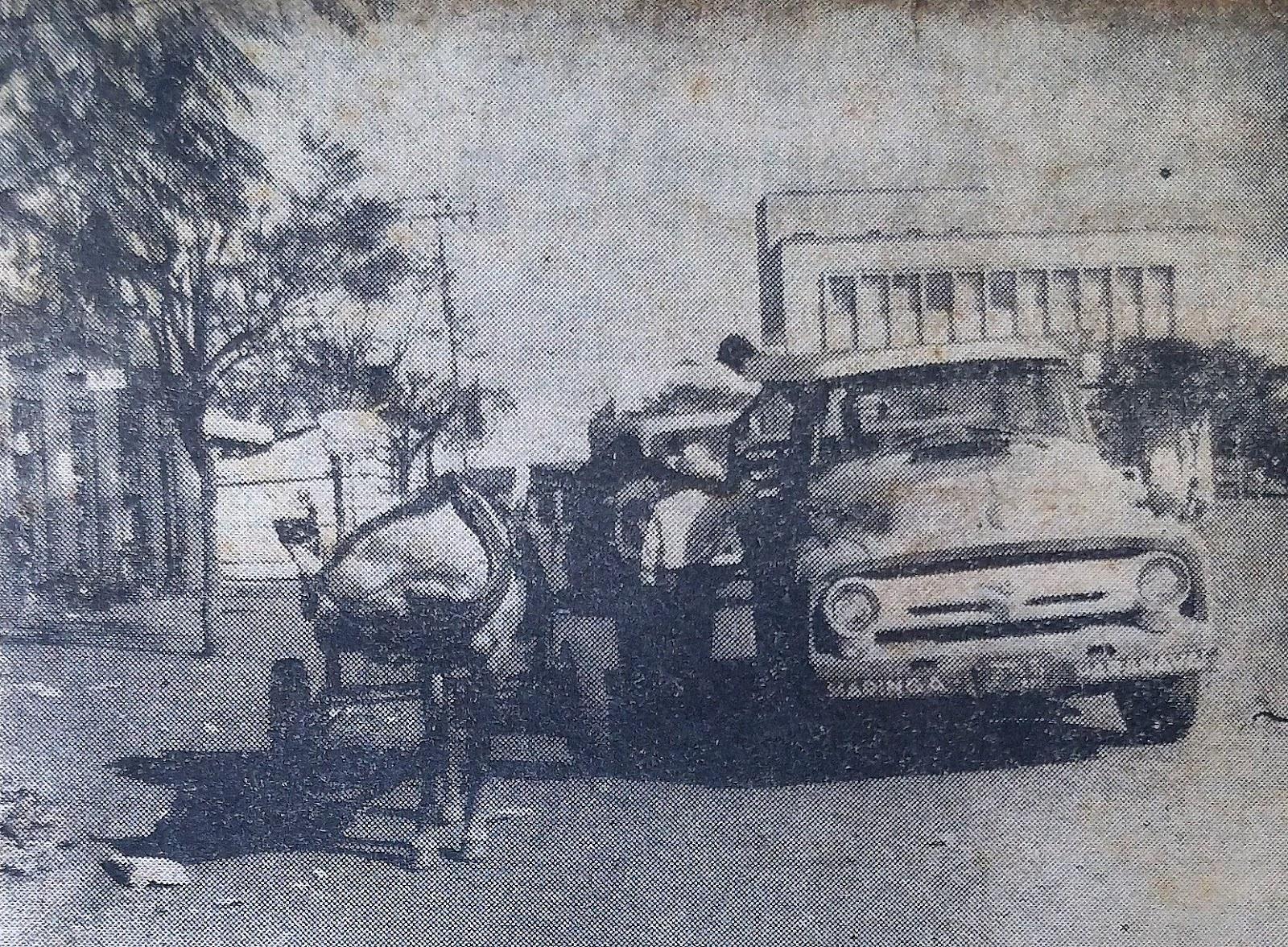 O lado mau da cidade - Leis de trânsito - 1960