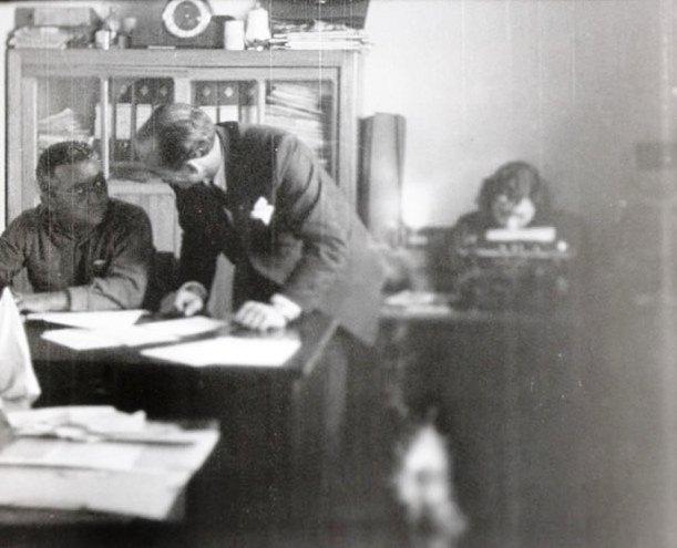 Escritório da Casa Ribeiro - Década de 1950
