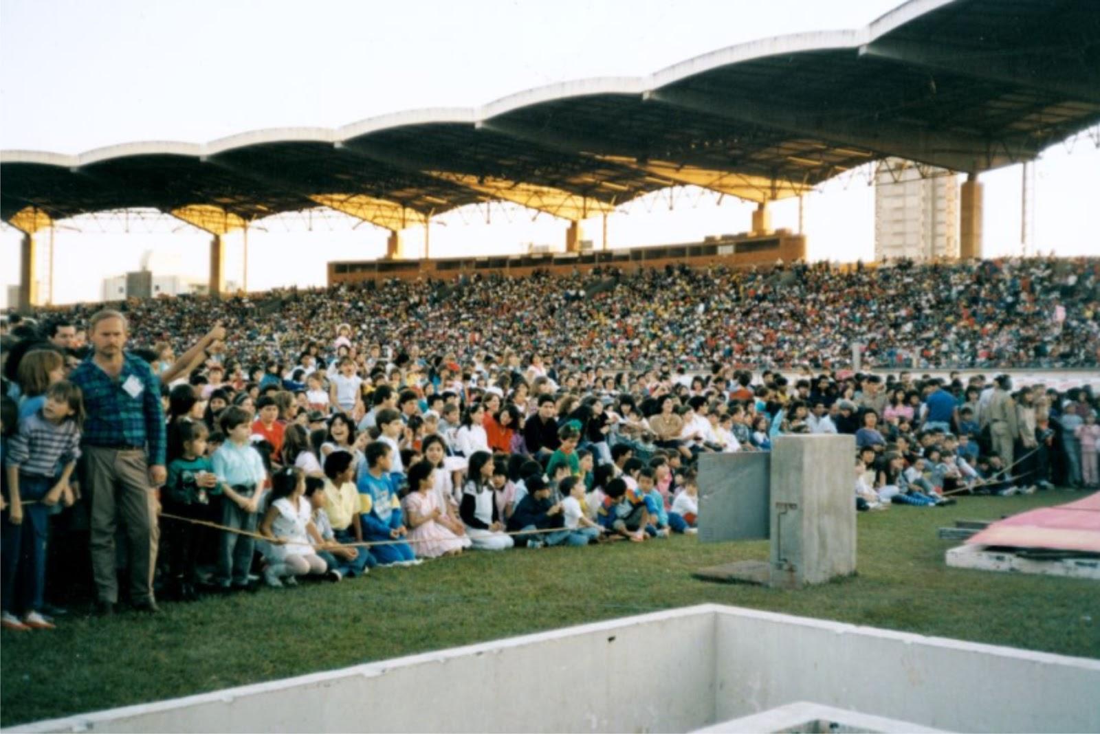 Público - Show da Angélica - 1989