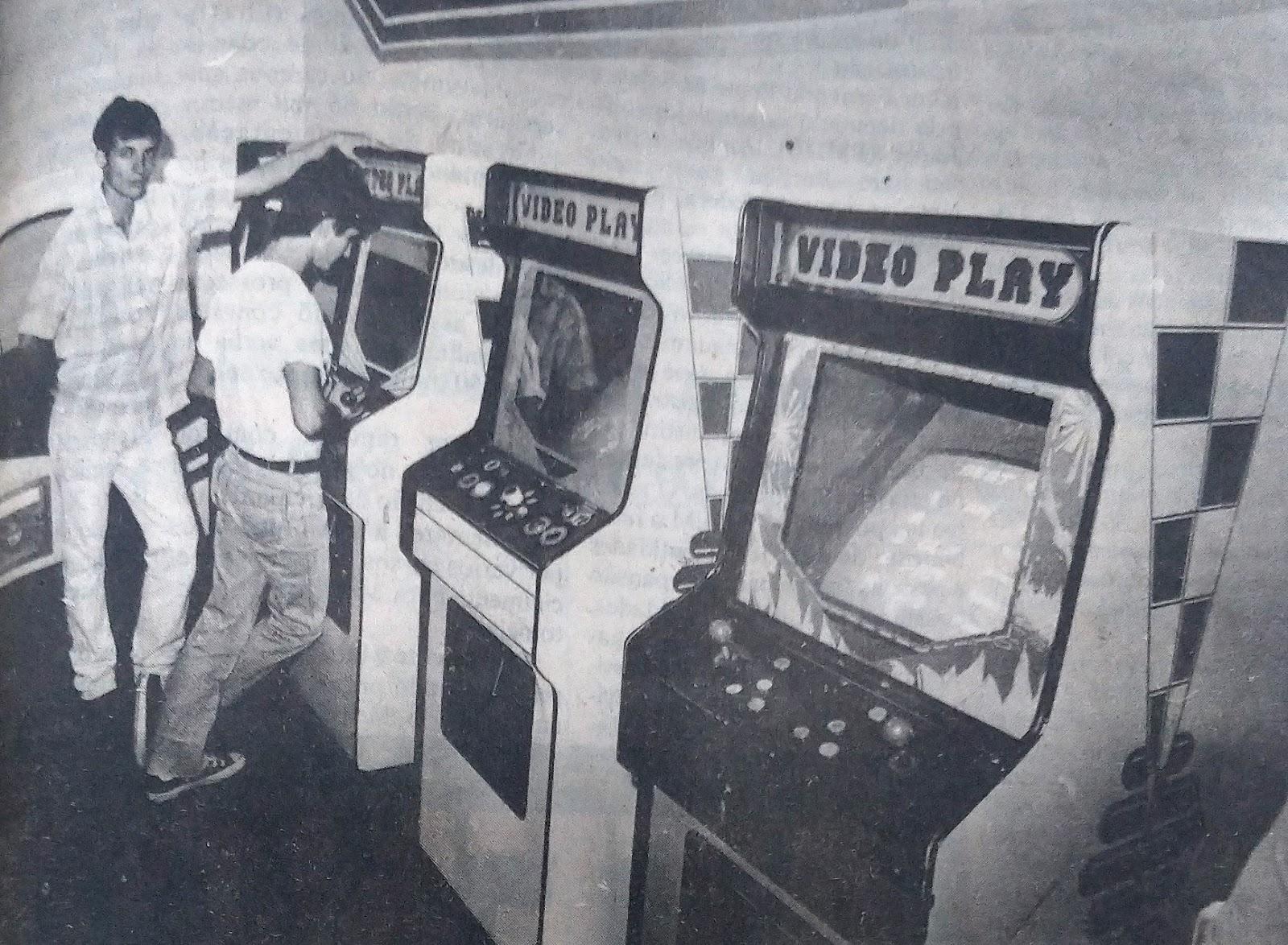 Menores proibidos nos fliperamas - 1988