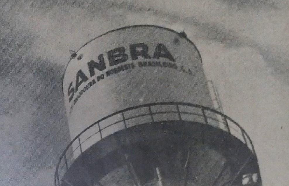 Caixa de água da Sanbra - 1962