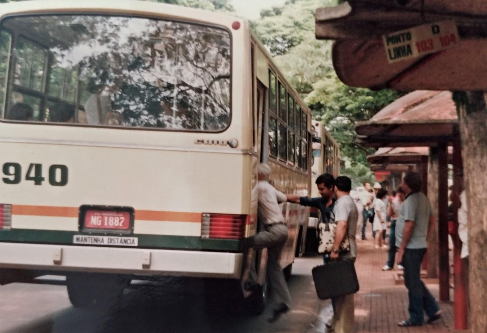 Terminal Urbano de Maringá - 1984