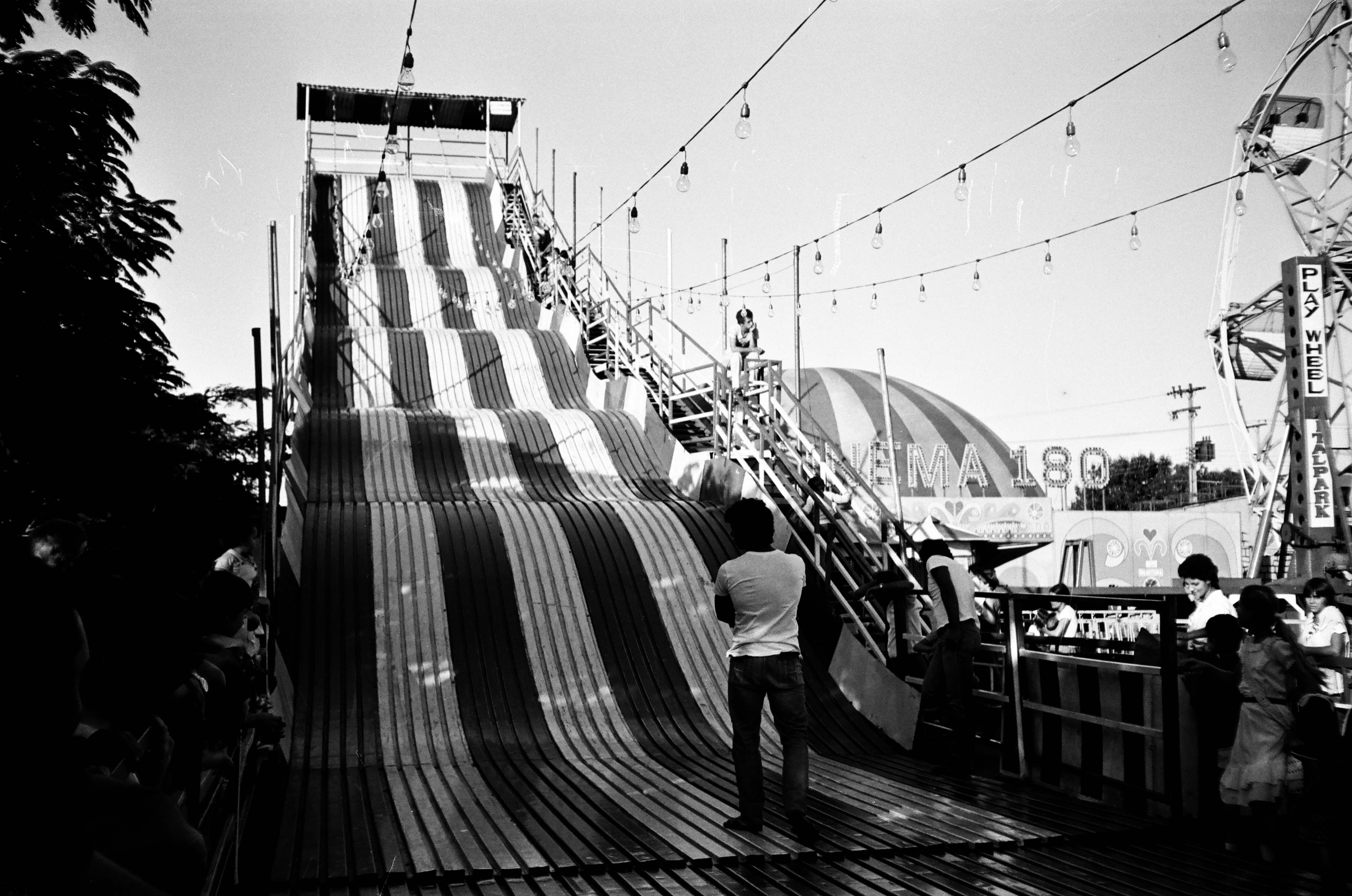 Tobogã na Expoingá - Anos 1980 (outro ângulo)