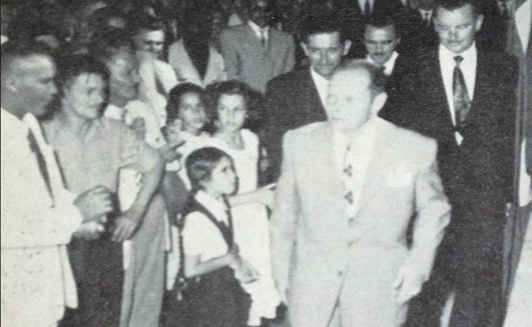 Posse do 1º prefeito e Baile da Vitória - 1952