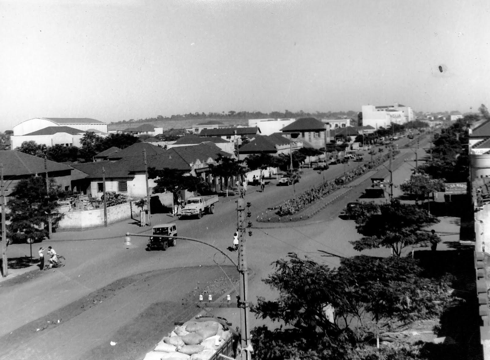 Avenida Brasil sob outro ângulo - Década de 1950