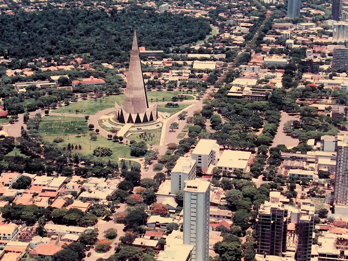 Vista aérea - 1984