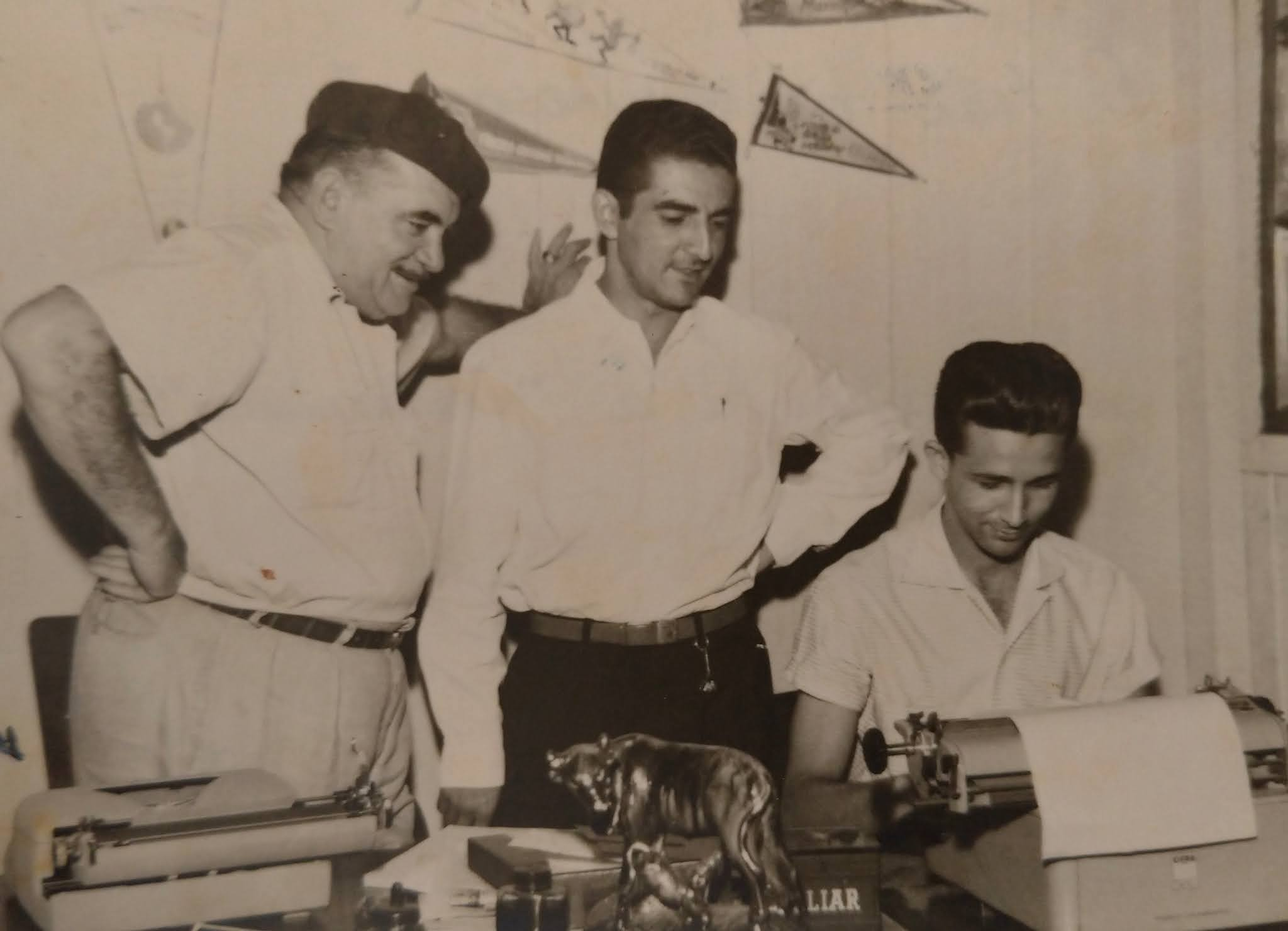 Redação da Tribuna de Maringá - 1959
