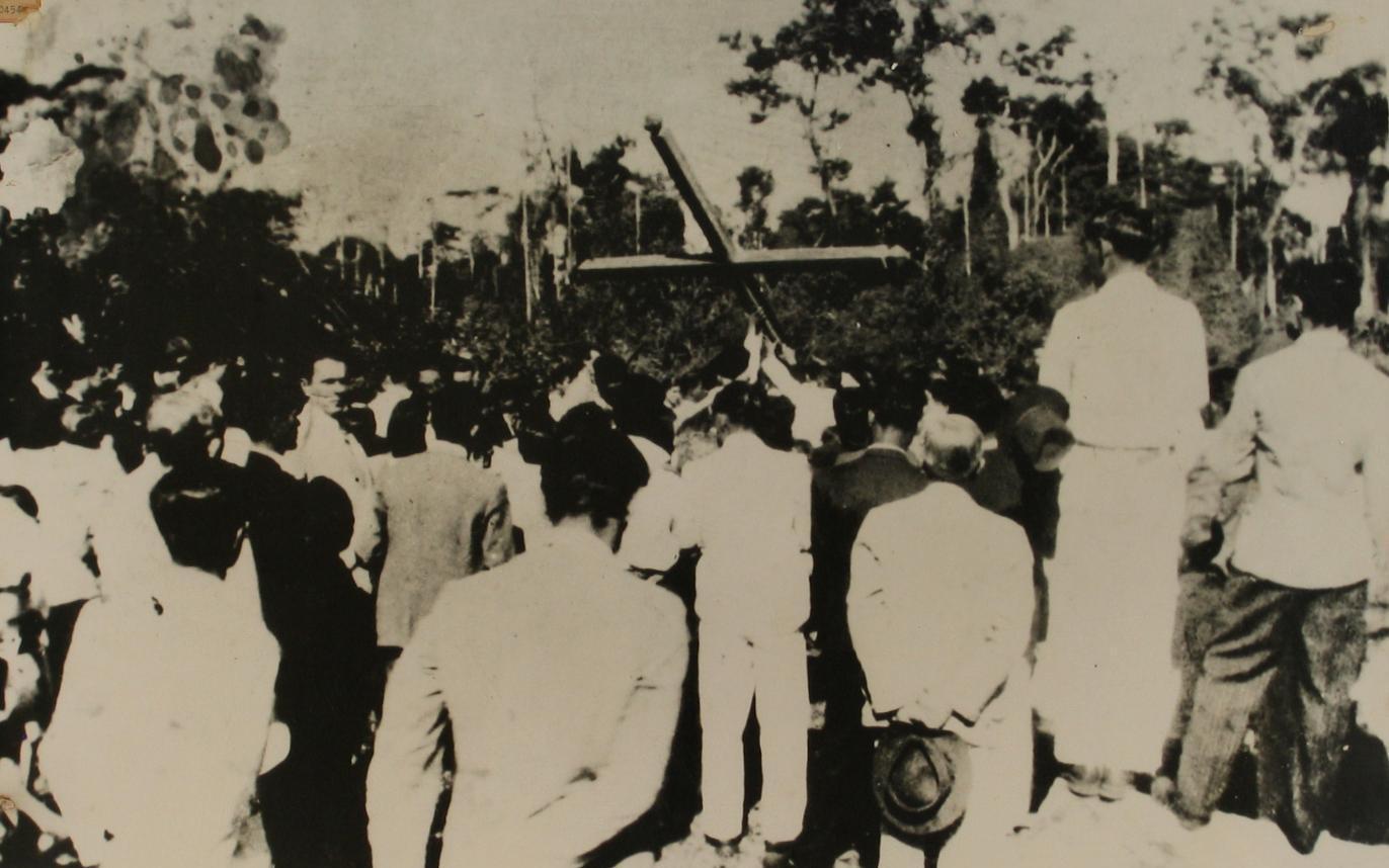 Fundação da Capela Santa Cruz - 1945