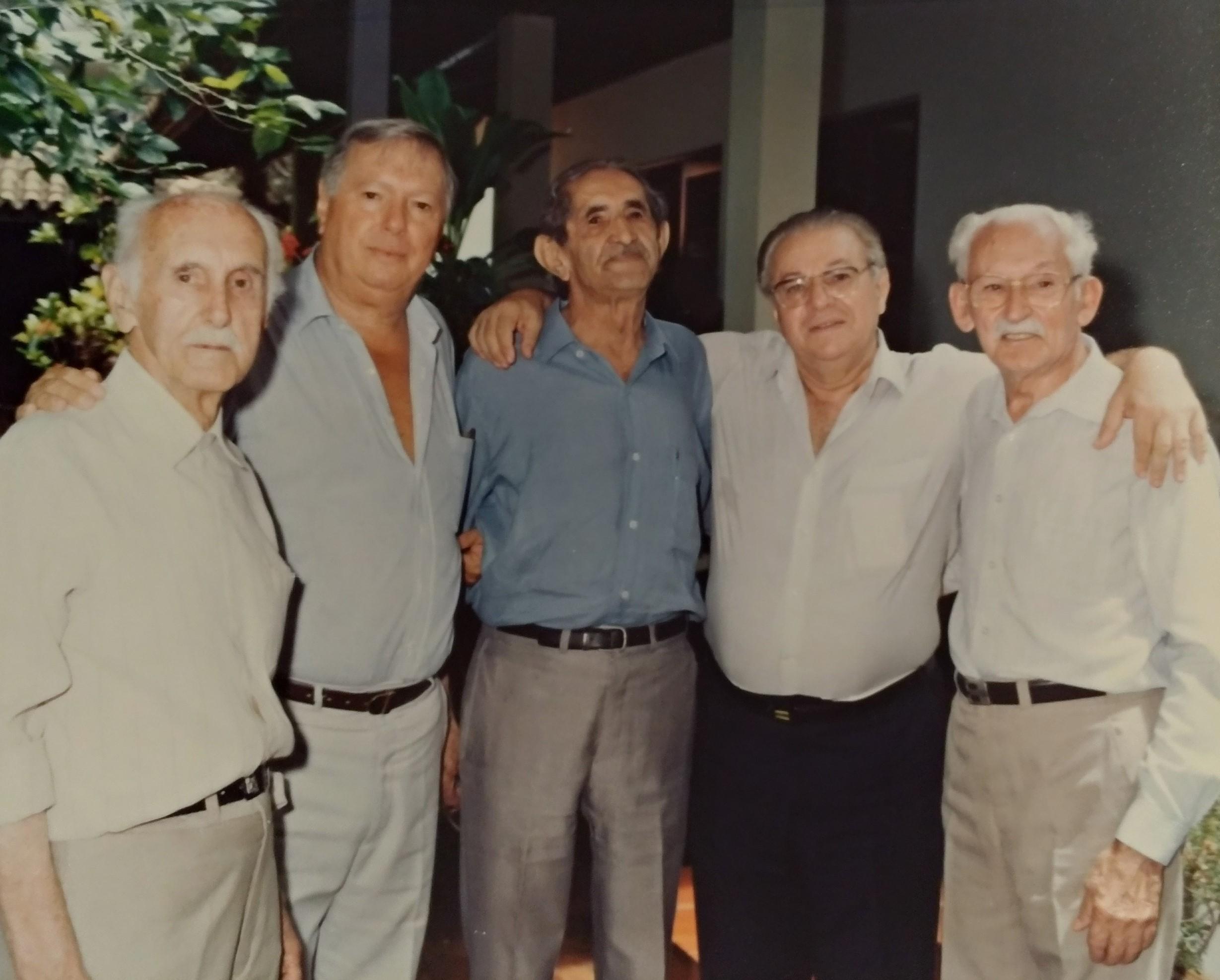 Pioneiros nos 90 anos de Ângelo Planas - 1993