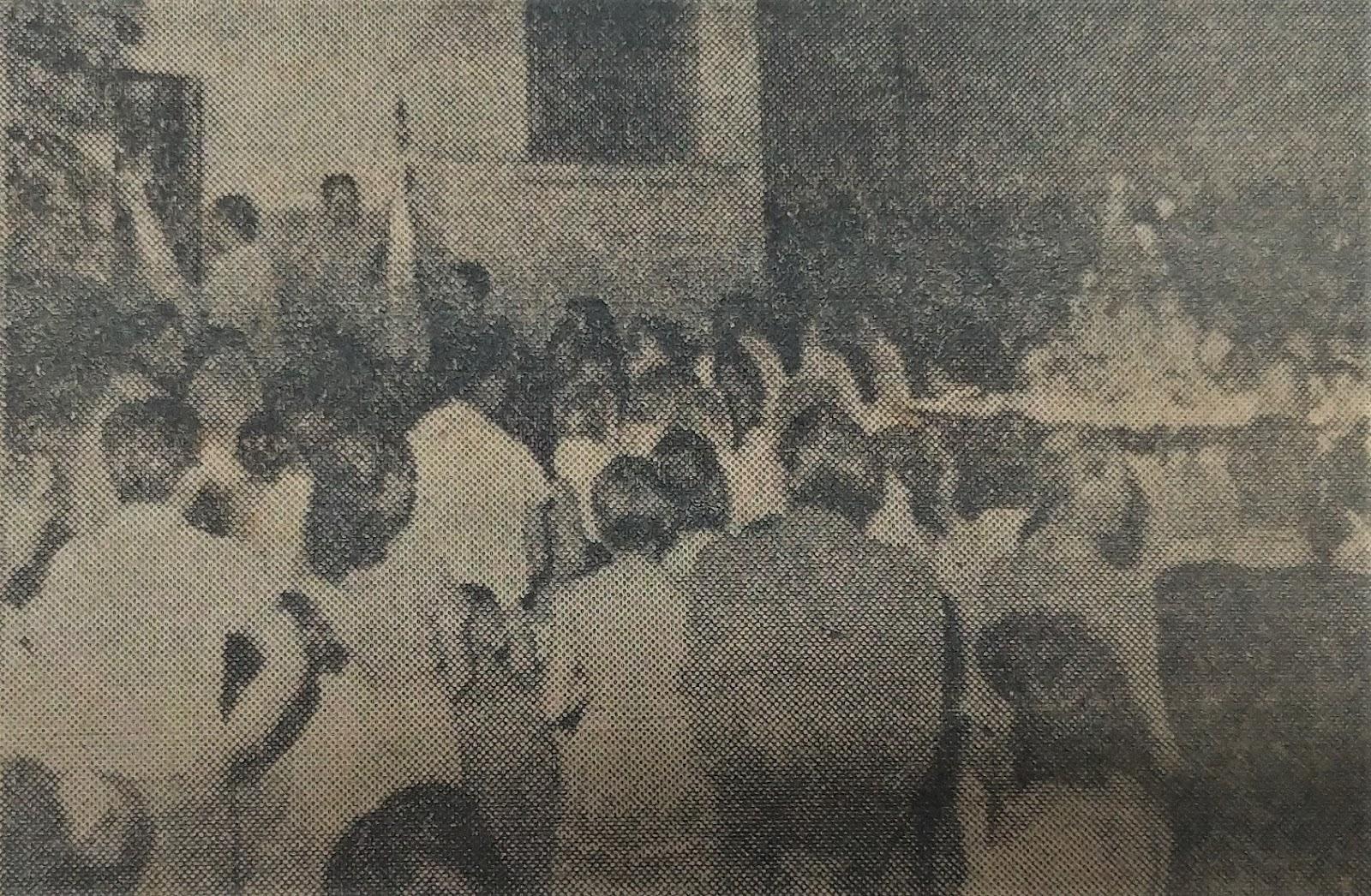 Visita de Nossa Senhora Aparecida na Cadeia - Outubro de 1962