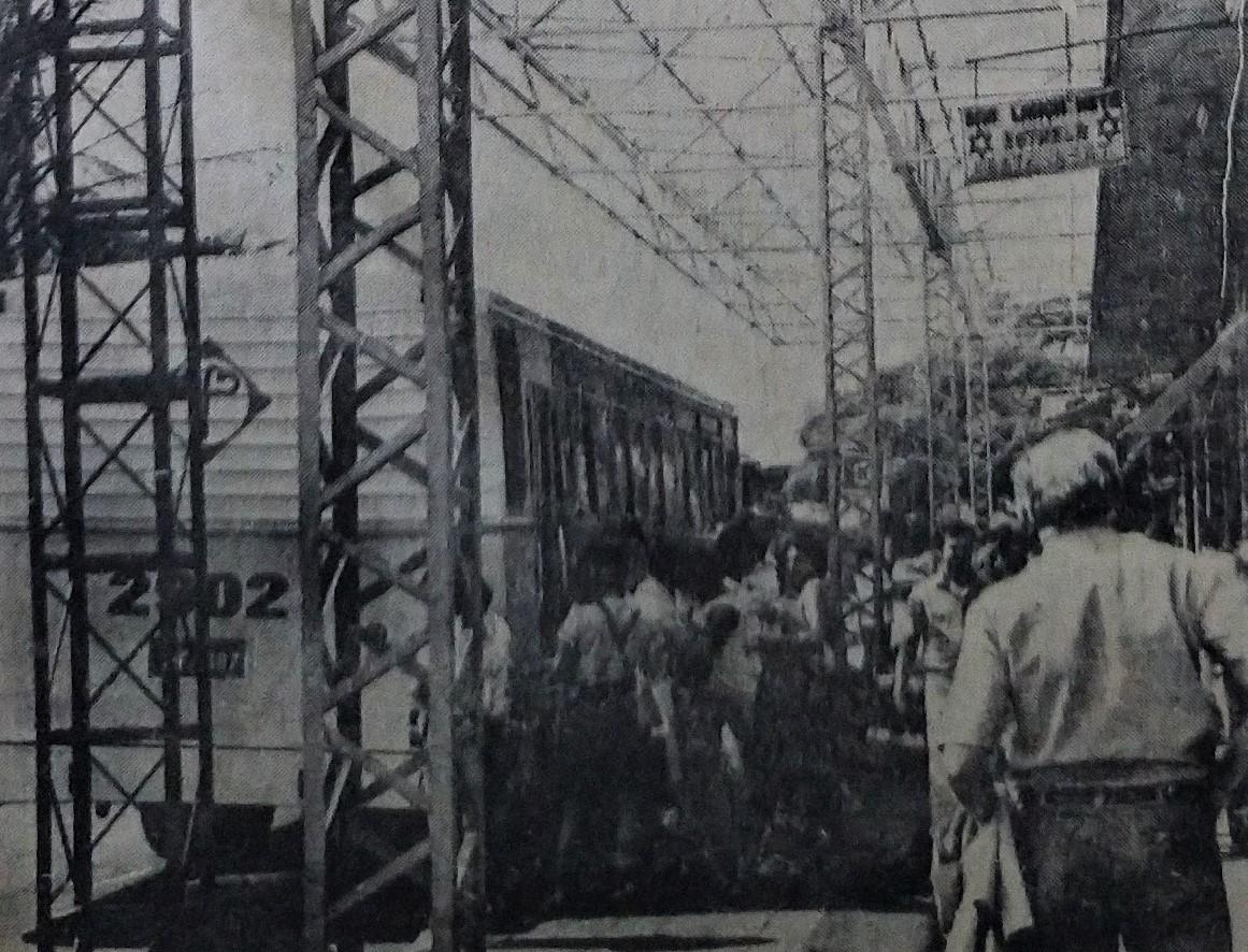 Reformas na Estação Rodoviária - 1983