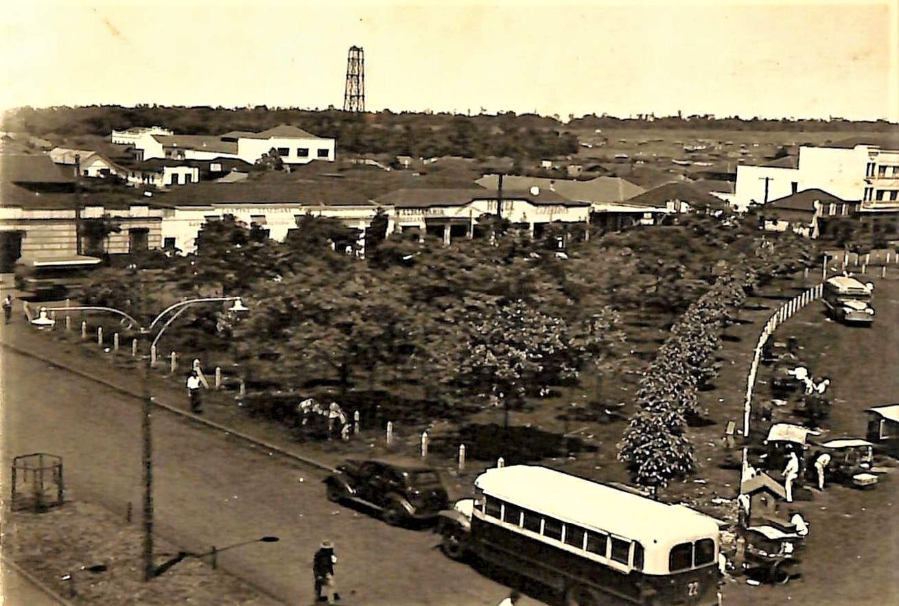 Avenida Duque de Caxias - Década de 1950