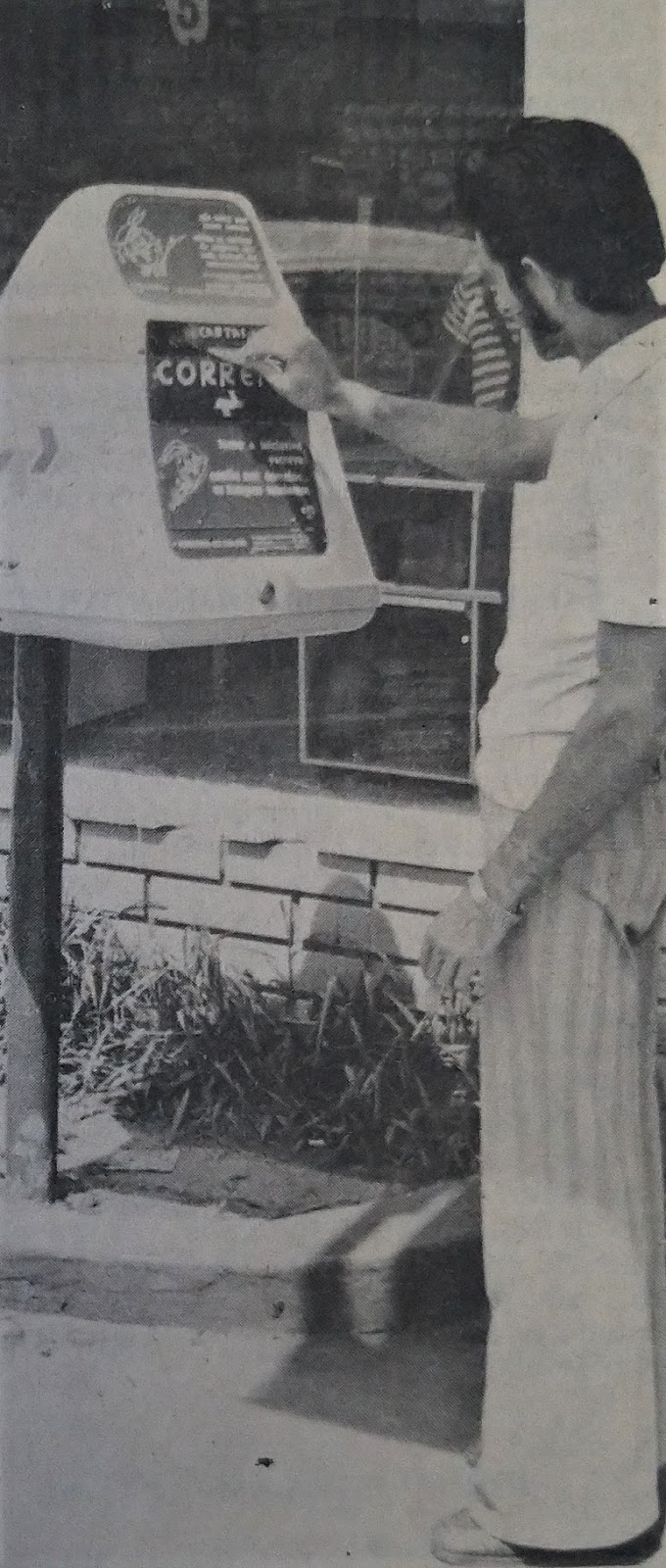 Modernização dos Correios - 1975