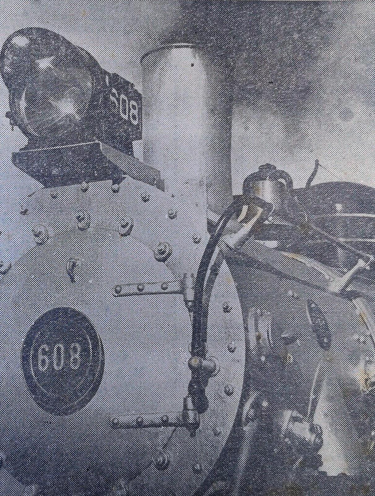 A 608 voltou - Dezembro de 1972