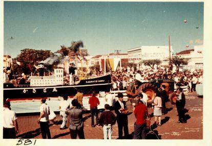 Desfile dos 20 anos de Maringá - 1967