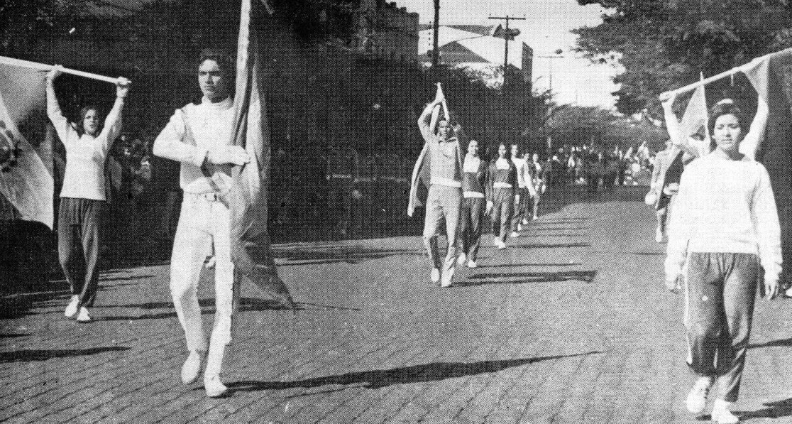 Atletas de Maringá - Década de 1960