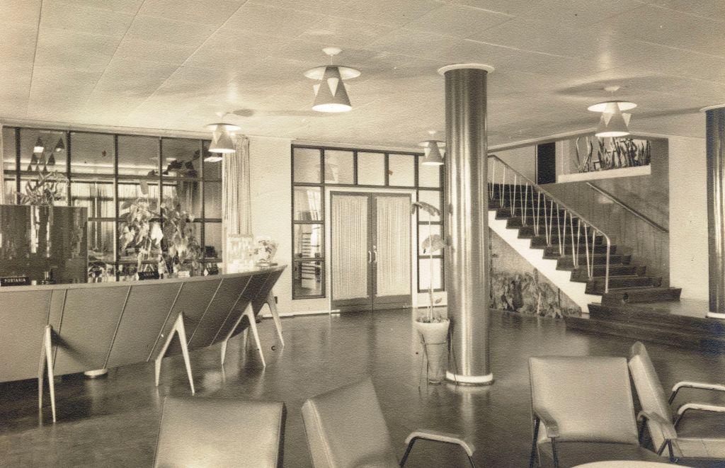 Interior do Grande Hotel Maringá