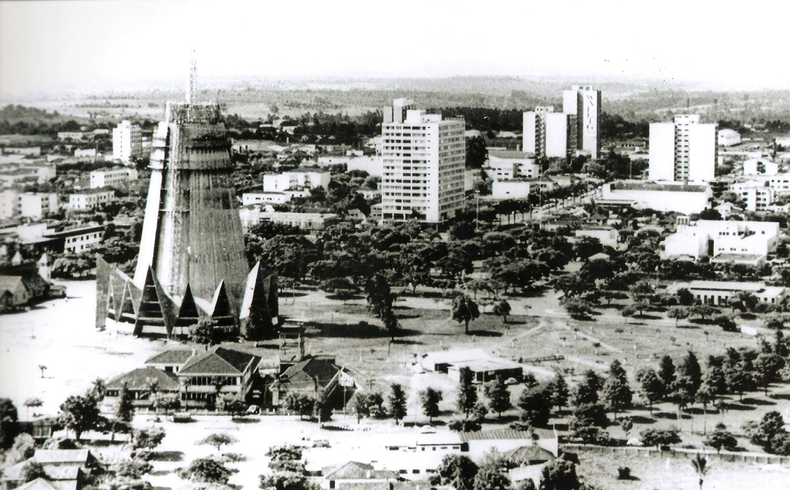 Centro de Maringá - Início dos anos 1970