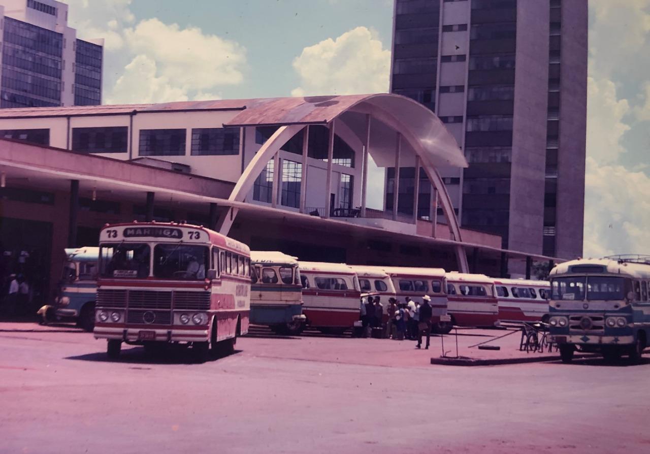 Estação Rodoviária Municipal - Década de 1970