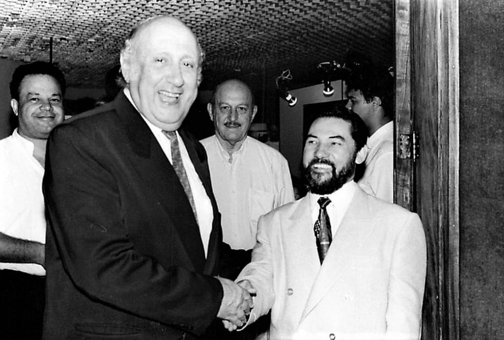 Lançamento do livro Sociologia de Botequim - 1995